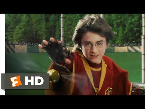 Harry Potter and the Sorcerer's Stone (4/5) Movie CLIP - Catching the Snitch (2001) HD,