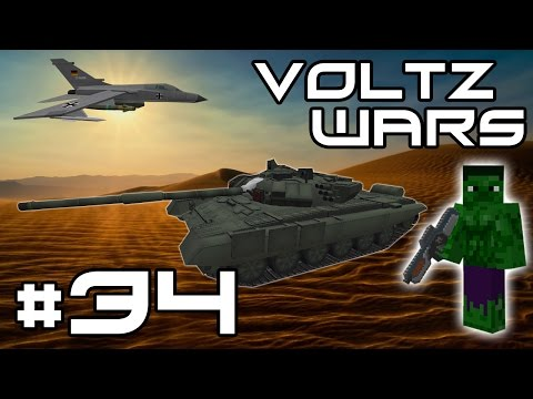 Minecraft Voltz Wars - Flux Mega Armour! #34