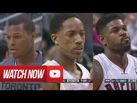 2014.03.21 - Amir Johnson, DeMar DeRozan & Kyle Lowry Full Combined Highlights vs Thunder