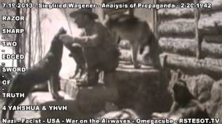 Analysis of Propaganda   2 20 1942   Siegfried Wagener