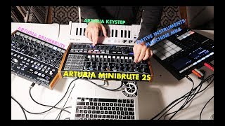 MINIBRUTE 2S IN FULL ACTION! - Beatmaking