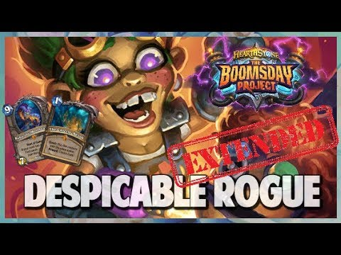 Despicable Rogue | Extended Gameplay | Hearthstone | Boomsday Project