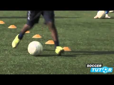 Mengontrol Bola bag. 1 - Video program latihan akademi sepakbola dan pembinaan usia dini