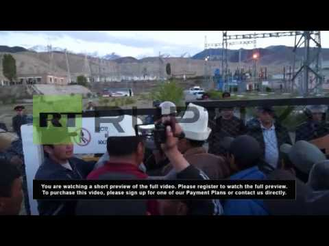Kyrgyzstan: Protests take the shine away from Canadian gold mine