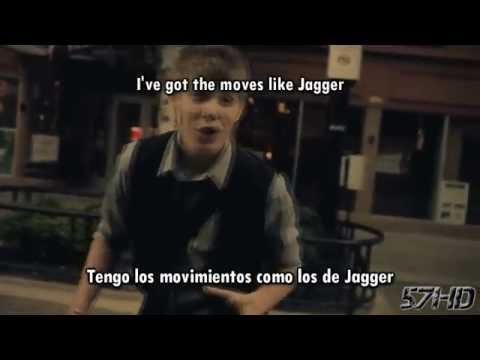 Drey K - Moves Like Jagger (Maroon 5) HD Video Subtitulado Español English Lyrics