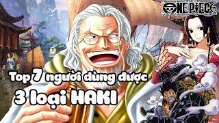 Lù Gaming Top 7 Người Dùng Được 3 Loại Haki Trong One Piece | Bình Luận Bựa #19