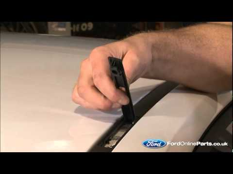 Ford Fiesta Roof Rack >> How to fit roof bars to your Ford car - YouTube