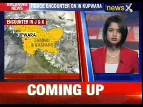 Encounter underway between Militants and security forces in Kupwara of Jammu & Kashmir