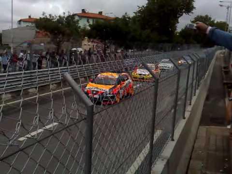 WTCC - 1ª Volta - Carros Acidentados - Circuito da Boavista 2009