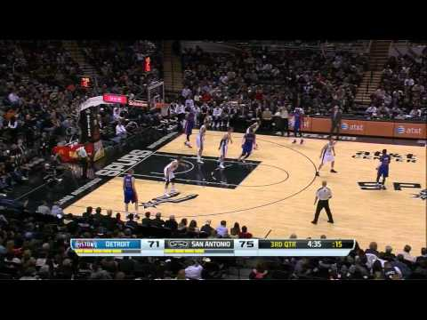 Marco Belinelli vs Detroit Pistons / Feb. 26th, 2014
