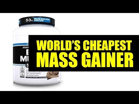 World's cheapest mass gainer