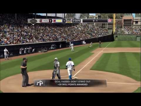 MLB 2K13: Tony Campana: Episode 34 - Cubs vs Astros - My Player/Let's Play.