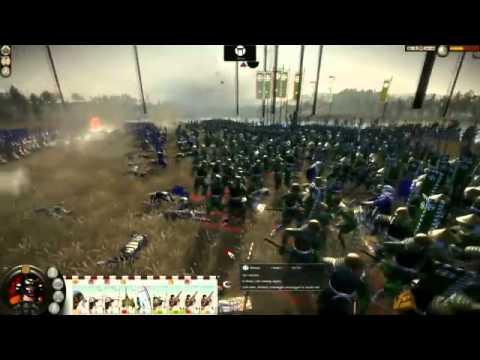 Анонс Total War: Shogun 2 - 9 минут игрового процесса