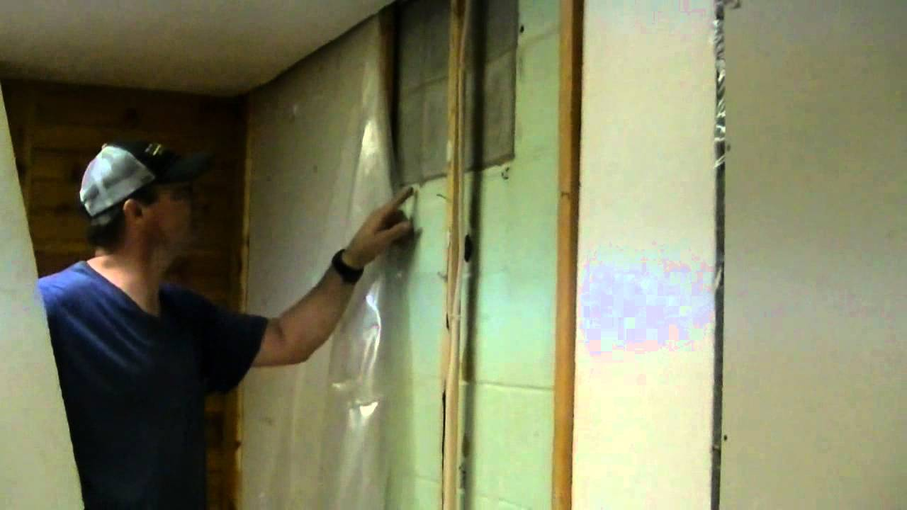 musty basement demolition and mold part 1 youtube