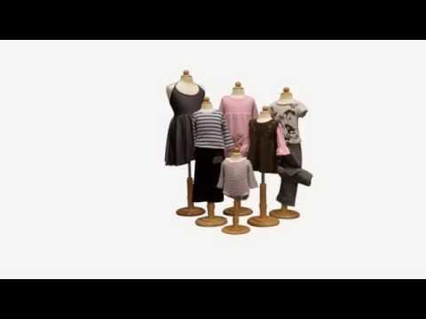 Bust Forms - http://www.idealmannequins