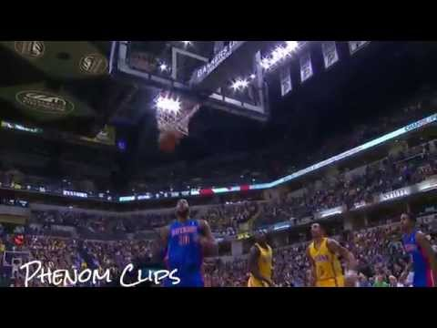 Lance Stephenson's Fancy Reverse layup | Pistons vs Pacers | April 2, 2014 | NBA 2013-2014 Season