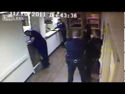 Police Officer Attacks and Beats Nurse in Hospital Brutality