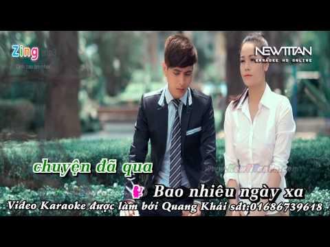 (Karaoke) Giá mình là người lạ -Hồ Quang Hiếu ft Nhật Kim Anh (tách)