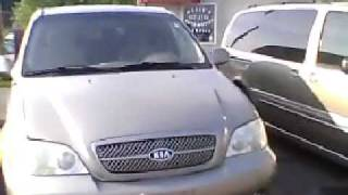 2004 Kia Sedona LX Walkaround & Review videos