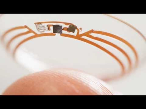 Google's Smart Contact Lens for measuring Glucose levels of Diabetes Patients.