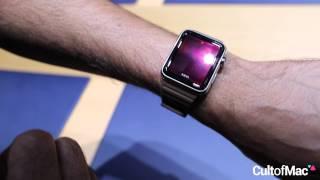 بالفيديو كيف يمكن إستخدام واجهة ساعة آبل الذكية