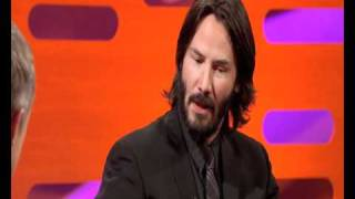 Keanu Reeves' Motorbike Accident The Graham Norton Show