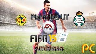 FIFA 15 Amistoso: América Vs Santos Y Sus Plantillas UT