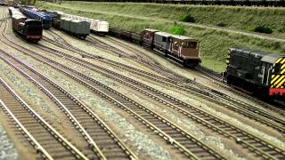 North East Model Railway Marshalling Yard Part1