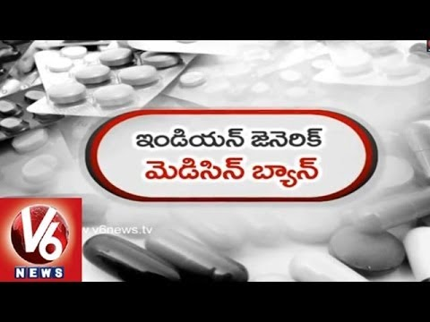 Indian Generic Drugs and Medicines Banned By US