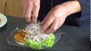 Receta De Ceviche Clasico De Pescado Como Preparar
