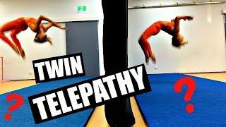 TWIN TELEPATHY TUMBLE CHALLENGE!