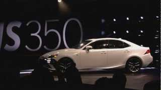 Lexus Introduces The All-New 2014 IS (Live Event Recap