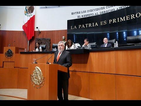 Reforma energética afecta a trabajadores petroleros y electricistas: senador Encinas Rodríguez