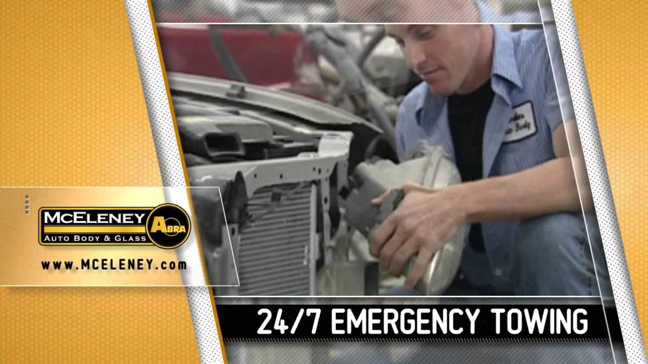Mceleney Abra Auto Body Glass Clinton Iowa Youtube
