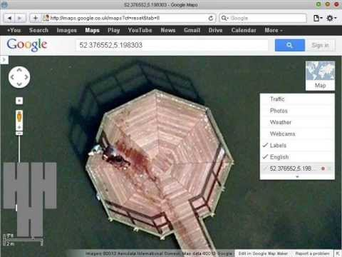 how to search with coordinates on google earth
