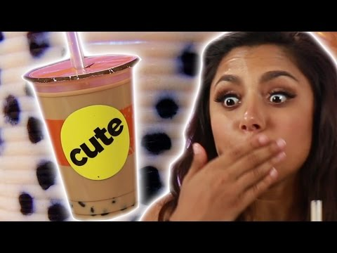 People Try Boba For The First Time