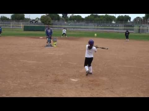 Ashley Hernandez Softball Skills