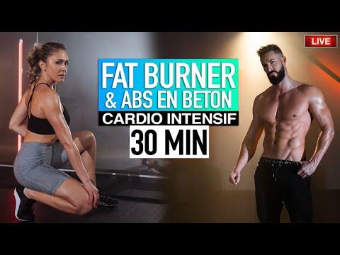 FATBURNER & ABS EN BÉTON 🔥 | Justine Gallice