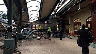 قتيل على الأقل و108 جريحاً في حادث قطار بولاية نيوجرسي |