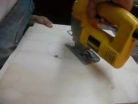 Como hacer circulo en madera con sierra caladora paso a for Como hacer una zapatera de madera paso a paso