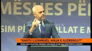 Rama Rasti i Lushnjes, 39maja e ajsbergut39  Top Channel Albania  News  L