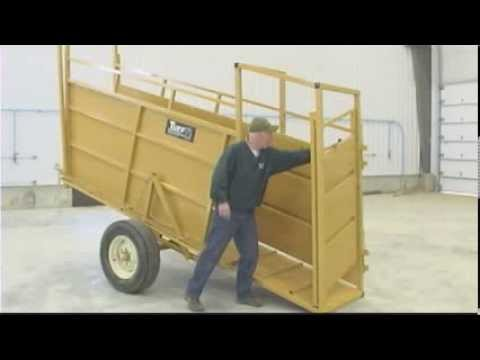 Tuff Equipment  Yellow Loading Chute