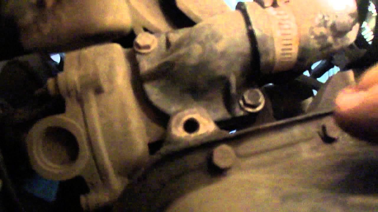 замена термостата на ауди 80 с гуром