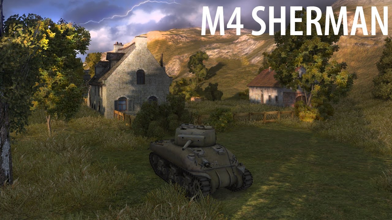 M4 Sherman - адова колесница нагиба