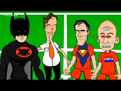 TIM KRUL PENALTY SAVES - Holland v Costa Rica Penalties by 442oons (5.7.14 World Cup Cartoon)