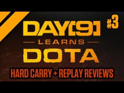 Day[9] Learns Dota - Hard Carry Practice + Replay Review - P3