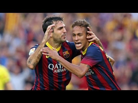 Barcelona  vs Real Madrid (2-1) All Goals & Highlights 26.10.2013 Neymar Show