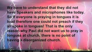Speaking In Tongues Biblical Proof IN CONTEXT! Gift Of