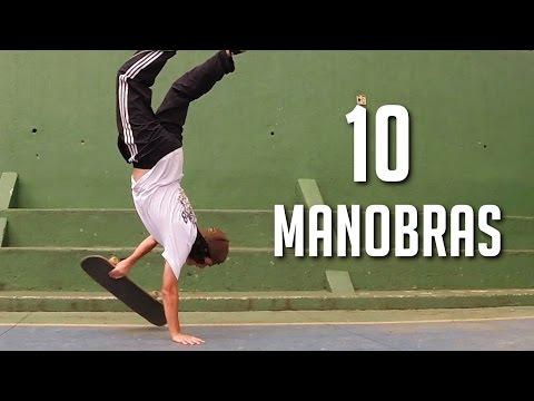 APRENDA 10 MANOBRAS BÁSICAS DE FREESTYLE SKATE