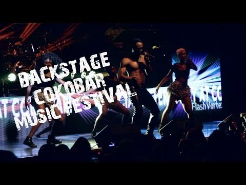 Backstage with Flavour Olamide Sean Tizzle At Cokobar Music Festival